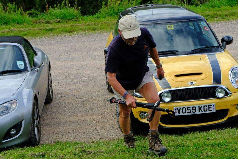 And Peter whose navigational skills let them down in finding the car park