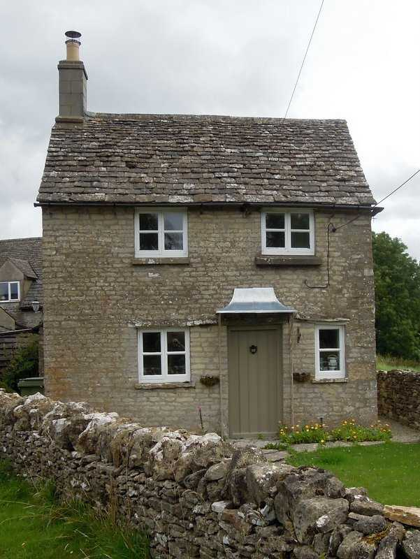 And this tiny cottage