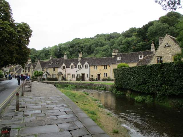 And into Castle Combe village.
