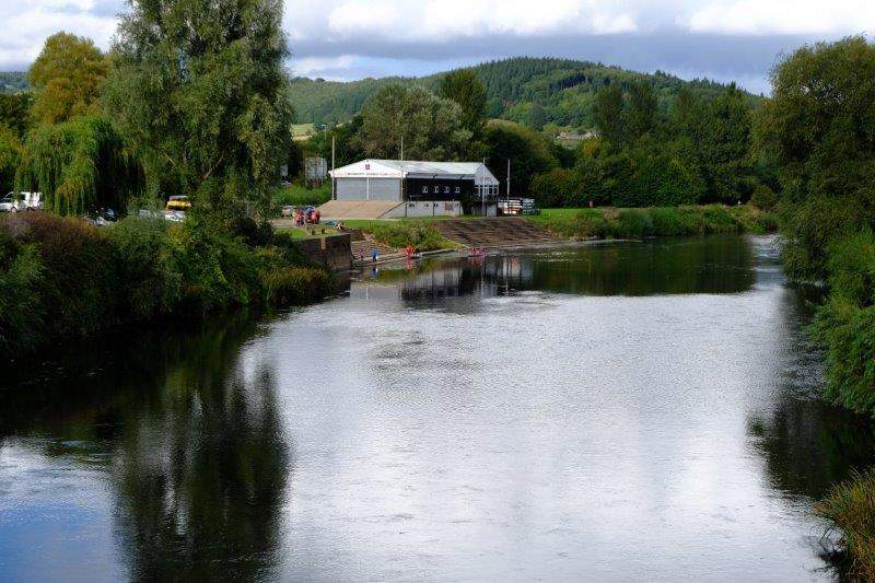 As we cross the Wye and enter Monmouth