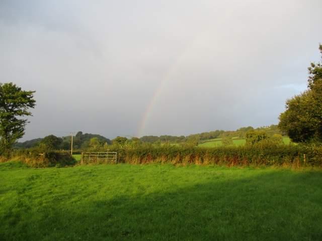 But afterwards, a rainbow