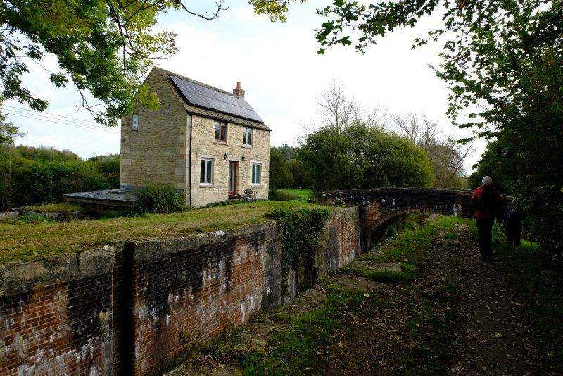 Wildmoorway Lock and Keeper's cottage