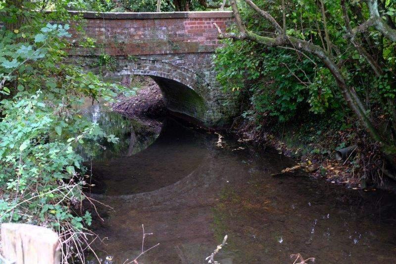 The bridge near Beards Mill