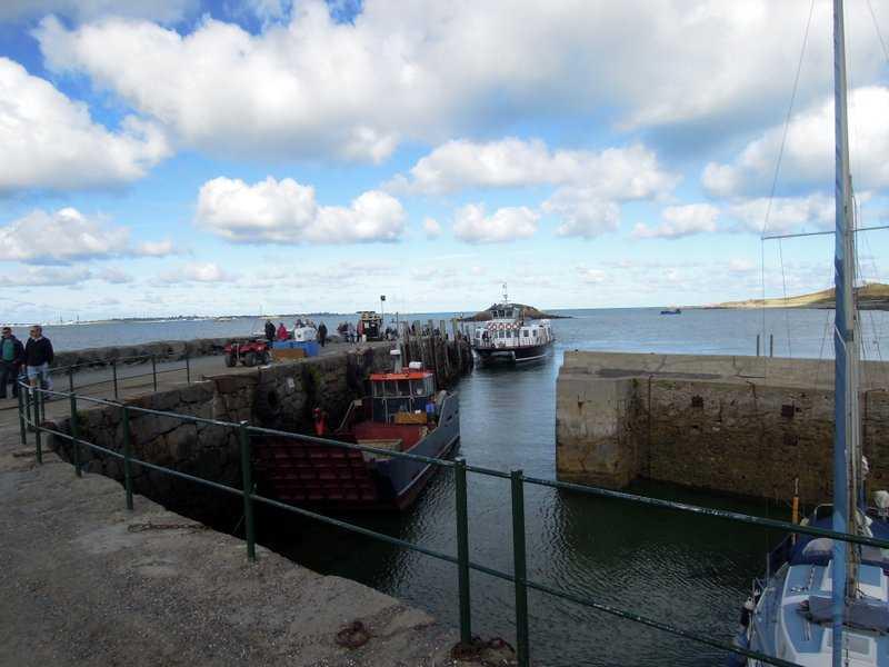 We disembark at the Harbour