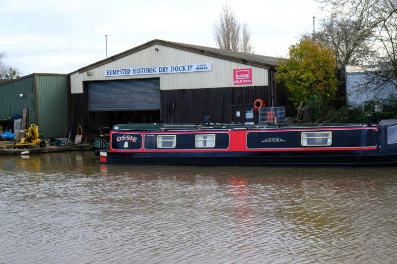 Plenty of Gloucester's history on the boat - owned by an ex Chelsea  supporter?