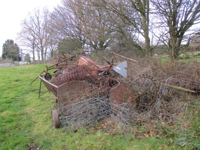 A farm tidy-up or scrap metal merchant?