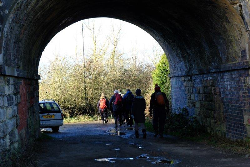 Under the Swindon railway line