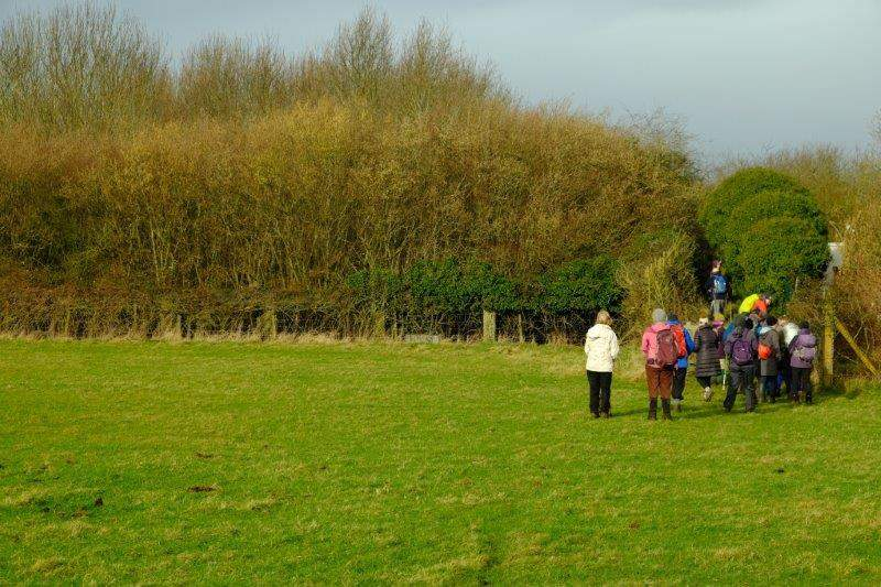Queuing for another stile