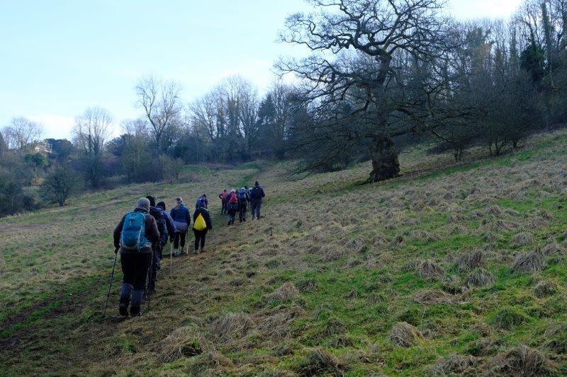 Before heading uphill towards Sapperton