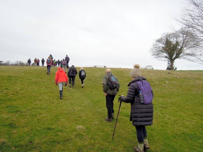 And up on to the common
