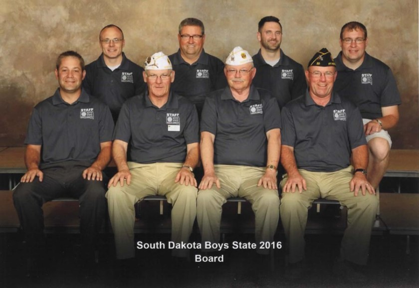 Boys State Board of Directors 2016