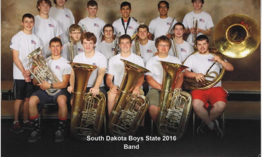 Boys State Band 2016