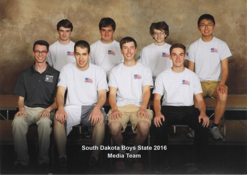 Boys State Media Team 2016