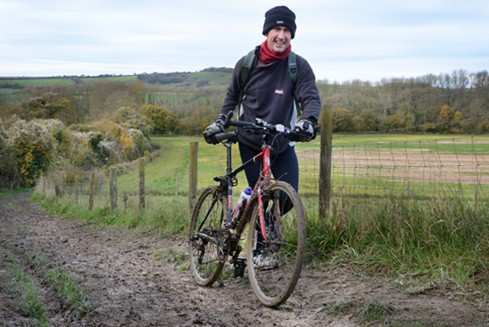 Cycling in the South Downs