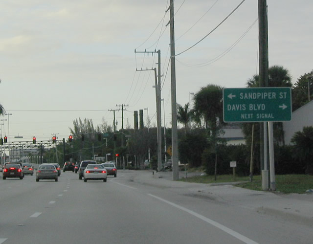 Florida SouthEastRoads US Highway 41 North Collier County