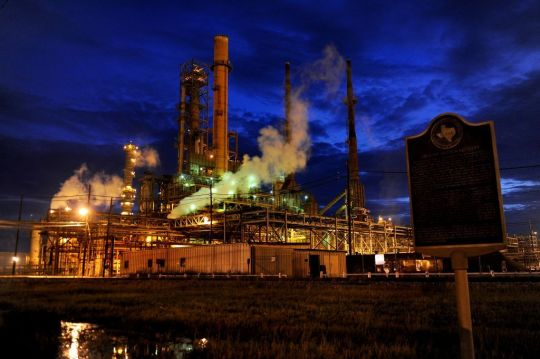 Port Arthur industrial construction projects