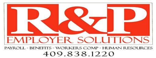 R&P Employer Solutions, Beaumont Tx Payroll Company, Payroll Company Beaumont Tx, Payroll company Southeast Texas, Payroll Company SETX, payroll company Port Arthur, payroll company Orange TX