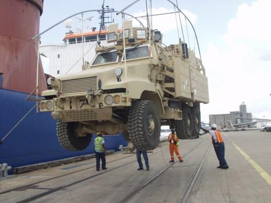 Sabine Neches Navigation District Military Transport