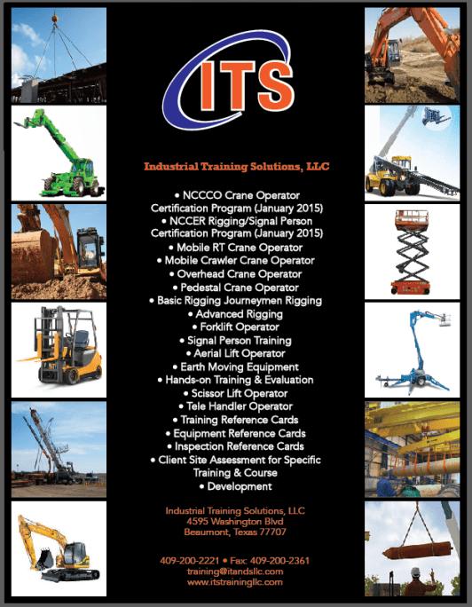 Industrial Training Solutions Golden Triangle TX, Industrial training Beaumont TX, commercial training Vidor, Aerial lift training Port Arthur, Pedestal Crane Operator Training Beaumont TX