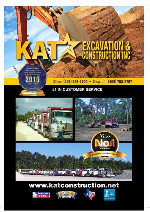 KAT Excavation and Construction Tank Pad Contractor Southeast Texas, culvert installation Beaumont TX, SETX culvert installation, cattle guard installation Beaumont TX, SETX cattle guard installation, BBB Torch Award Winner Beaumont TX,
