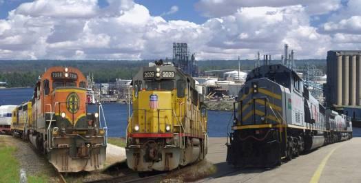 Port of Beaumont rail service