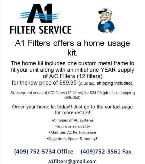 A1 Filters Beaumont TX, A 1 Filter Service Beaumont TX, A1 Filters Southeast Texas, A1 Filters SETX, A1 Filter Service Golden Triangle, A1 Filters Golden Triangle TX, A1 Filters Port Arthur, A1 filter service Port Arthur,