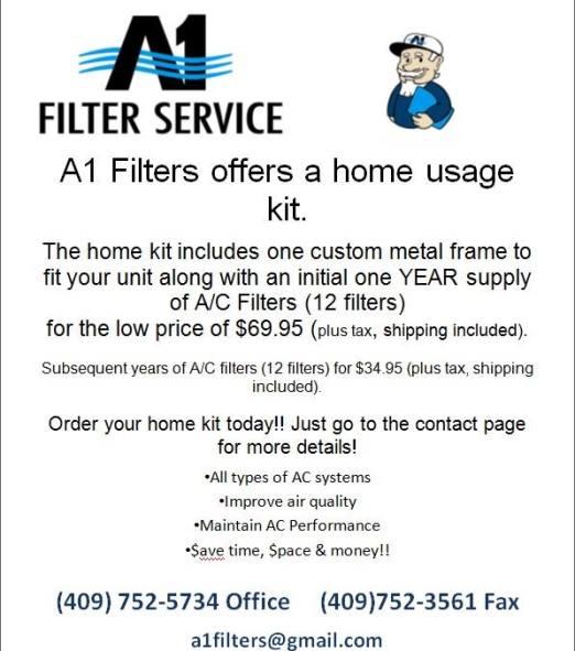 AC filter service Beaumont TX, AC filter service Southeast Texas, AC Filter service SETX, AC filter service Golden Triangle, AC filter service Port Arthur,