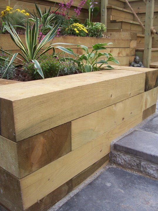 New Softwood Sleepers Safe For Domestic Use Devon And
