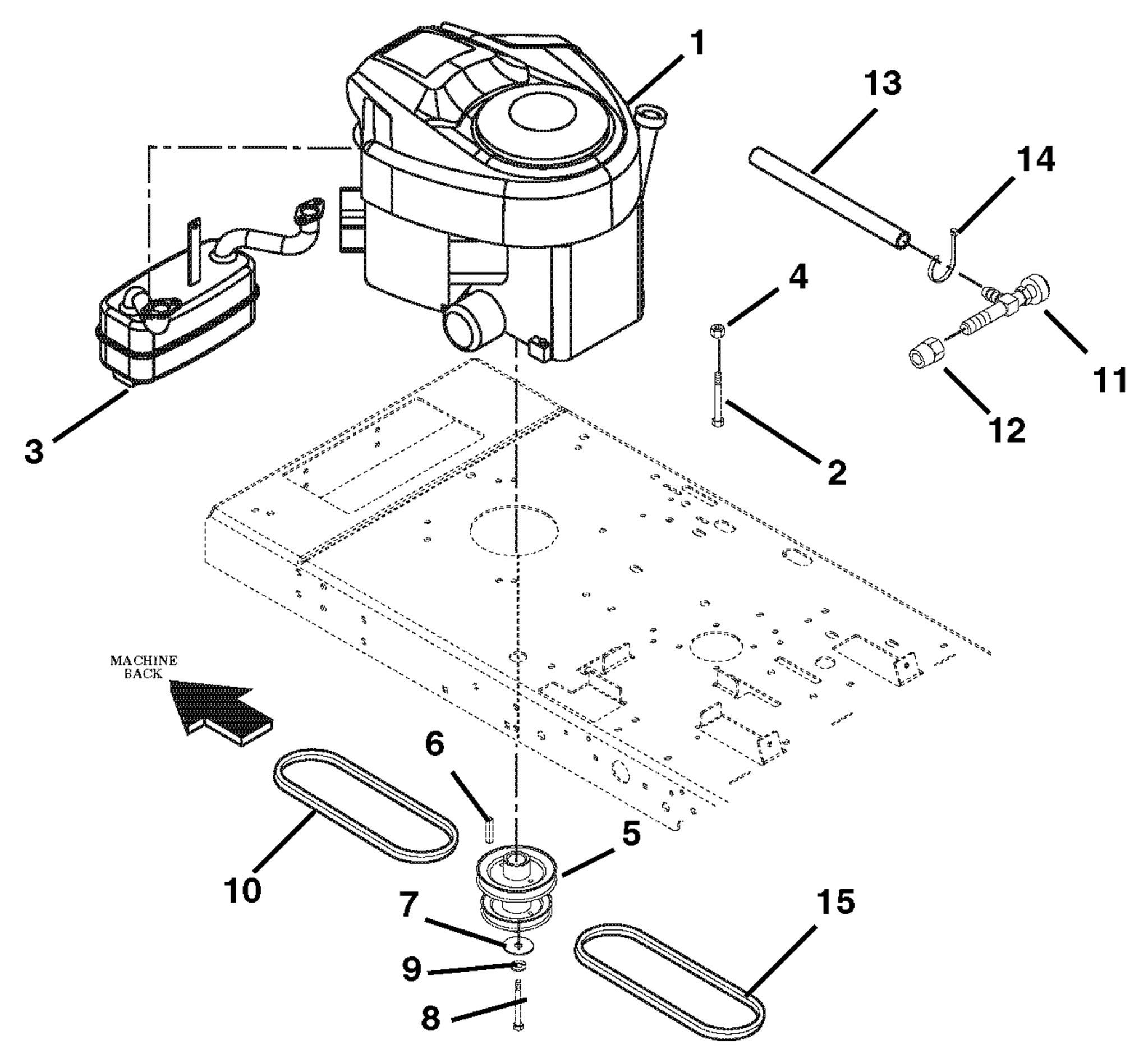 Engine Exhaust And Belts