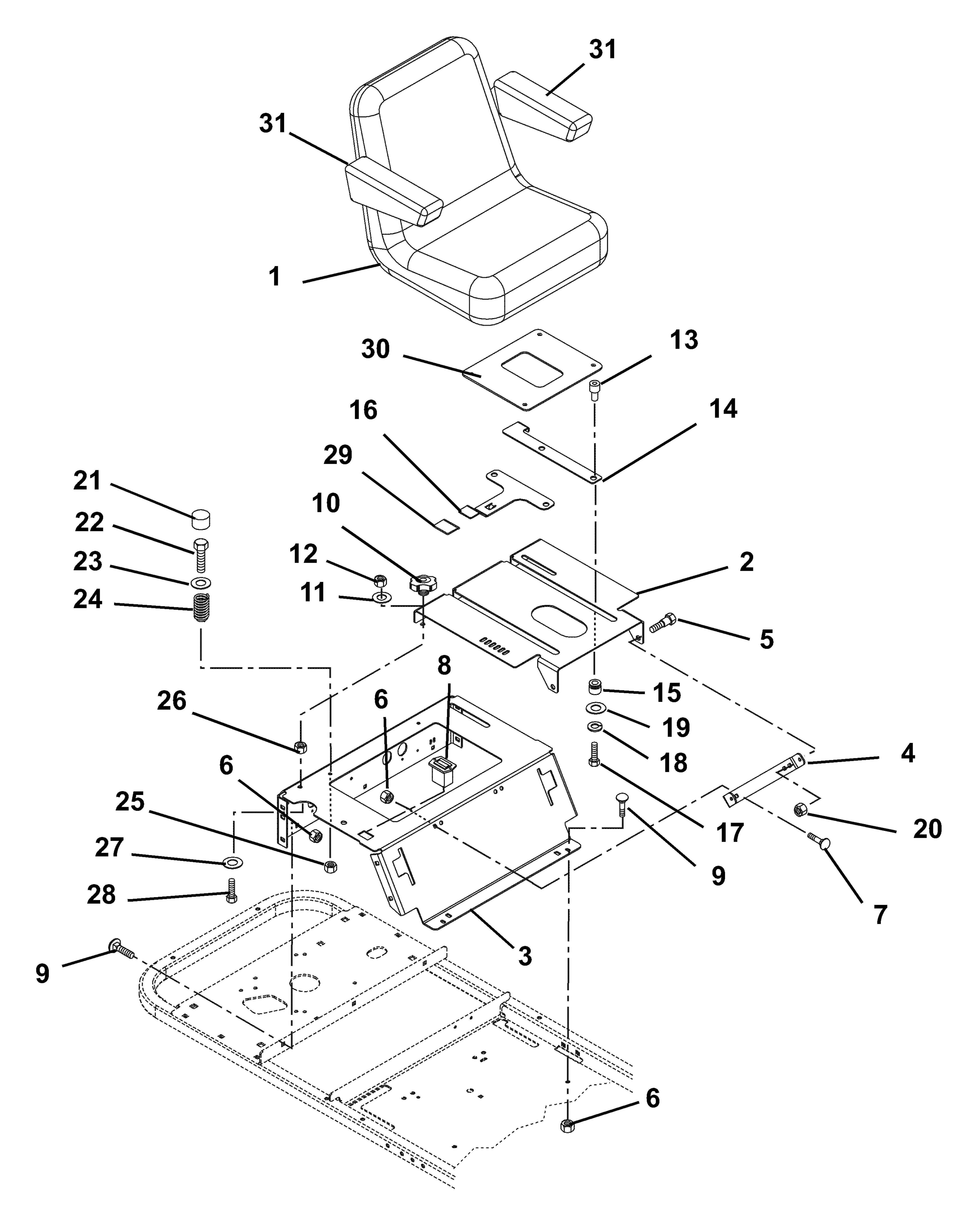 Seat And Seat Support