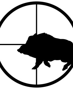 hog hunter decal