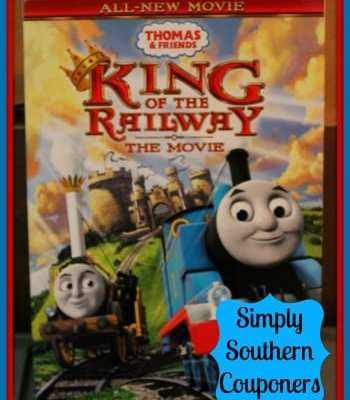 Thomas & Friends King of The Railway Movie on DVD {Review}