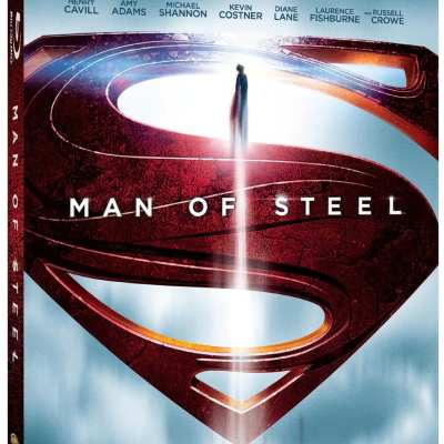 Man of Steel Blu-Ray DVD Combo Pack Only $9.99