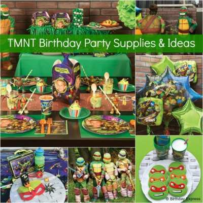 Teenage Mutant Ninja Turtles Birthday Party Supplies & Ideas from Birthday Express! #TMNT