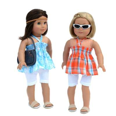 6-pc. Casual Everyday Outfit Set Fits 18″ American Girl Doll Clothes for only $6.85!