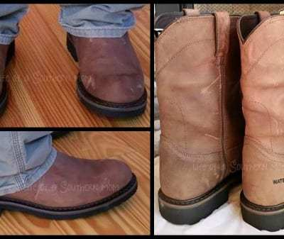 Justin Boots: Wyoming Waterproof Boots {Review}