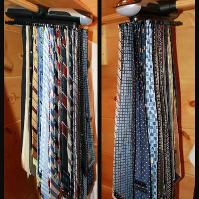 Hammacher Schlemmer: Motorized Tie Rack {Review}