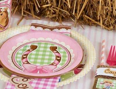 Throw the perfect PINK Cowgirl Party
