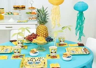 Throw a Fun SpongeBob-Themed Birthday Party!