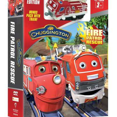 It's Chugging time with the all new Chuggington Fire Patrol Rescue Day DVD