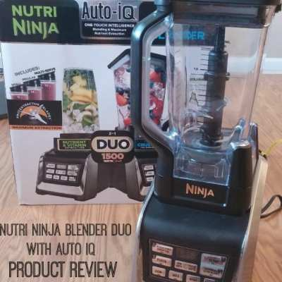 Nutri Ninja- Ninja Blender Duo #Review