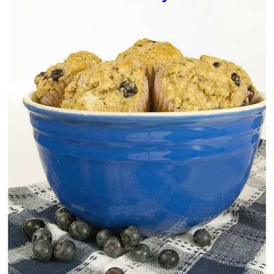 3 Recipes made with Krusteaz Blueberry Muffin Mix
