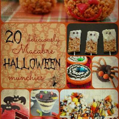 20 Deliciously Macabre Halloween Munchies