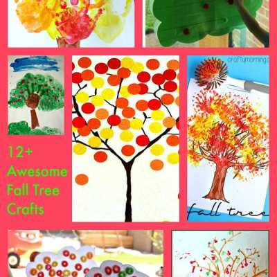 12+ Awesome Fall Tree Crafts