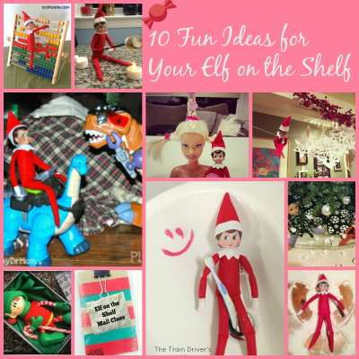 10 Fun Ideas for Your Elf on the Shelf