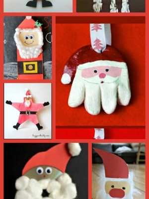 7 Santa Crafts for Kids