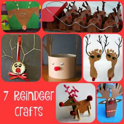 7 Reindeer Crafts