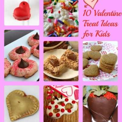 10 Valentine Treat Ideas for Kids
