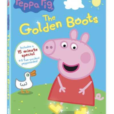 Peppa Pig's The Golden Boots TV Special, DVD and App!