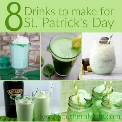 8 Drinks to Make for St. Patrick's Day